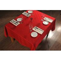 Wholesale Elegant Plain Pattern Wedding Tablecloths And Chair Covers 100% Polyester Fabric from china suppliers