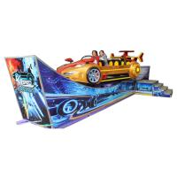 Wholesale Theme Park Thrill Rides Flying Car Rated Load 10 Riders Movable Type from china suppliers