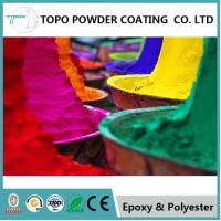 China RAL 1021 Colza Yellow Pure Epoxy Powder Coating High Mechanical Performance on sale