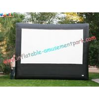 Wholesale Advertising giant Inflatable Movie Screen, outdoor projection movie screenings for disply from china suppliers