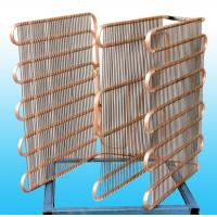 Quality Cold Drawn Copper Coated Freezer Evaporator Wall thickness 0.7mm for sale