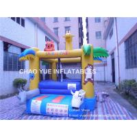 Wholesale PLATO PVC Tarpaulin Mini Animal Inflatable Bounce House, Custom Inflatable Bouncer in 4x3x3H Meter from china suppliers