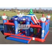 Wholesale Outdoor Toys Giant Robot Theme Inflatable Playground With Obstacle And Slide from china suppliers