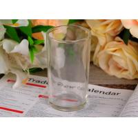 186Ml Water Glass Tumbler , straight tempered water glass cup 100mm high