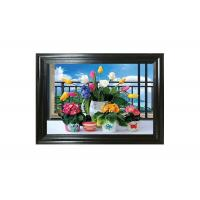 Wholesale Water - Proof Flower Home Decor Picture 3D Lenticular Photography from china suppliers