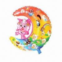 Wholesale Inflatable Toys in Attractive Colors, Cartoon in Moon Special Shape and 3 Different Designs from china suppliers