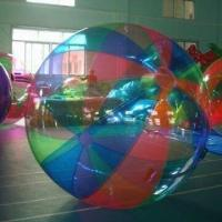 Wholesale Human Hamster Ball for Pool, Made of 0.8mm PVC, Customized Colors and Sizes are Accepted from china suppliers