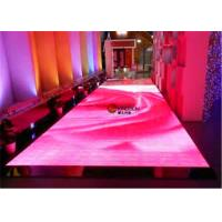 Wholesale Full Color P9mm LED Stage Floor , LED Light Up Dance Floor Tiles For Wedding Party from china suppliers