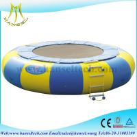 Wholesale Hansel New Arrival Orbit Water Trampoline Combo With Durable Material from china suppliers
