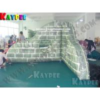 Wholesale Inflatable paintball Bunker broken wall,digital printing Deluxe Tactical Field, KPB031 from china suppliers