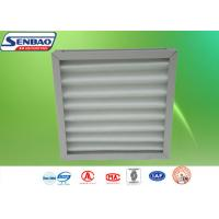 Quality Aluminum Frame Washable Pleated Panel Pre Air Filters For Ventilation System for sale