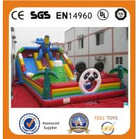Wholesale Hot Sale high quality commerical inflatables bouncer slide in China from china suppliers