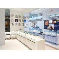 Wholesale LED Lights Decorated Custom Glass Display Cases / Shop Display Cabinets from china suppliers