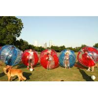 Buy cheap 1.00mm TPU Material Inflatable Bubble Soccer / Bubble Football With Logo from wholesalers