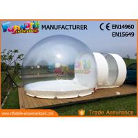 Wholesale Transparent Advertising Inflatables / Inflatable Bubble Room 8m Diameter from china suppliers