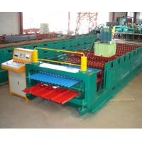 Wholesale Color Coated Meta Iron Steel Corrugated Arch Roofing Panel Roll Forming Machine from china suppliers