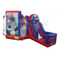 Wholesale Spiderman Bouncy Castle With Slide WSC-231 from china suppliers