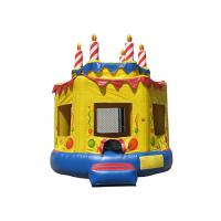 Quality PVC Oxford Cloth Kids Garden Bouncy Castle Anti - Skid For Outdoor Sport Places for sale