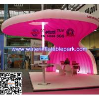 Wholesale Fashion Beautiful Pink Inflatable Tent For Exhibition , PVC Tarpaulin from china suppliers