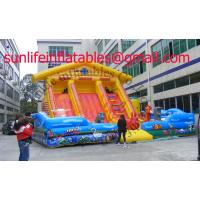 Wholesale Renting Inflatable Fun City With Moonwalk Bounce For Adult And Child from china suppliers