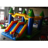 Wholesale Backyard Kids Inflatable Jumping Castle High Strength With Double Down Slides from china suppliers