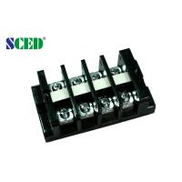 China Pitch 18.00mm High Current Power Terminal Block Connector With Any Poles 600V 60A on sale