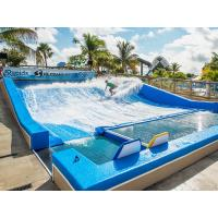 Quality 165kw Standard Size Surf Simulator Machine Swimming Pool Water Slide for sale