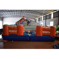 Buy cheap Exciting Inflatable Sport Games Size 5x5m / Inflatable Skiing Games from wholesalers