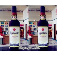 Wholesale Hot Sale Inflatable Wine Bottle Model Advertising Inflatable Bottle for Sale from china suppliers