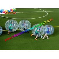 Wholesale 100% TPU Inflatable Bubble Football , Zorb Bumper Ball For Team from china suppliers