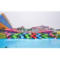 Wholesale Colorful Kid Water Slides Equipment Outdoor Pool Water Slides For Adults from china suppliers