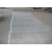 Wholesale Pvc Green Gabion Wire Mesh Panels , Wire Gabion Baskets For River 2*1*1 from china suppliers