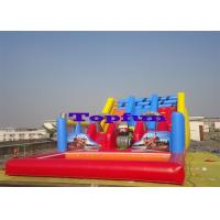 Wholesale Inflatable Challenge Water Slide With Pool Ahead For Kids Slide Fun from china suppliers
