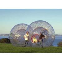 Environmental TPU Outdoor Inflatable Toys Body Zorb Ball for Adults Rental