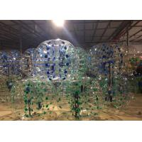 Wholesale Blue Yellow Green Inflatable Bubble Soccer Balls Air - Tight For Sport Game from china suppliers