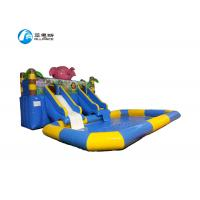 Wholesale Inflatable Commercial Blow Up Water Slides Easy Install For Amusement Park from china suppliers