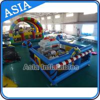 China 5ml Commercial Inflatable Bouncer Circus Bounce Playground Fun City on sale