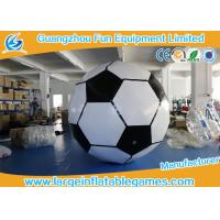 China 3m Giant Inflatable Sport Games / Inflatable Football For Paintball Party on sale