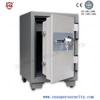 Wholesale 115L locking Fire proof safe box cabniet with Internal Temperature Below 177 Degree Celsius for government agencies from china suppliers
