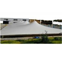 Wholesale Customized PVC Coated Membrane Structure 950gsm White Color 1000D Yarn Count from china suppliers