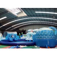Wholesale Indoor Inflatable Amusement Park Blow Up Water Playground OEM Service from china suppliers