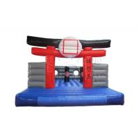 Wholesale Karate Kids Inflatable Bounce House For Kindergarten / Home Yard from china suppliers