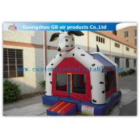 Quality Dog Shape Inflatable Bouncer House Kids Toy Jumping Bouncer Castle With Blower for sale