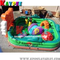 Wholesale KFT004 Inflatable funcity,Amazing Fun zone for kid,inflatable playland,crazy playgound from china suppliers