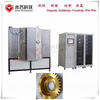 Wholesale Titanium Nitride Coating Equipment , TiN Gold PVD Coating, Thin Film PVD TiN Vacuum Coating from china suppliers