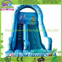 China High quality small indoor inflatable slide pool children inflatable pool with slide on sale