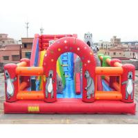 China Bear Inflatable Theme Park Bounce House Gonflables Jumping Castle Digitial Printing on sale