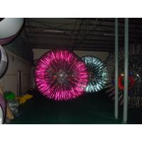 Wholesale Out dia 3m / Inner dia 2m Shinning Inflatable Zorb Ball YHZB 010 650W CE / UL Blower from china suppliers