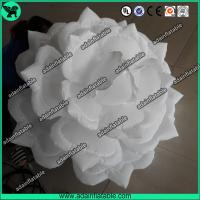 Wholesale 1.5m White LED Light Inflatable Rose Flower For Wedding Event Decoration from china suppliers