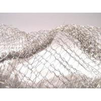 Wholesale Noise Reduction Knitted Stainless Steel Filter Mesh Crochet Weaving For Gas / Liquid from china suppliers